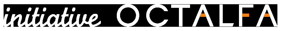 Initiative Octalfa logo horizontal